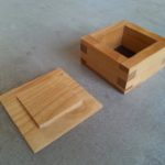 Du Sens Au Bois - Boîte en bois à queues droites